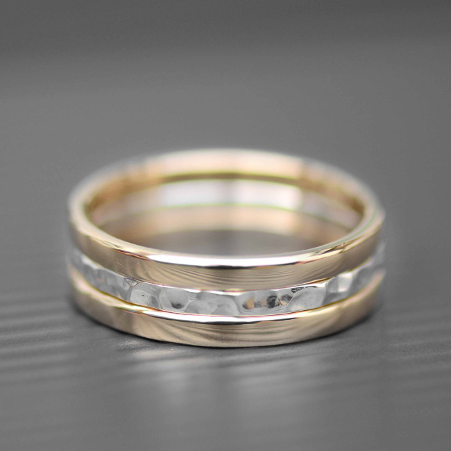 gold and silver rings lwsilver handmade jewellery designer