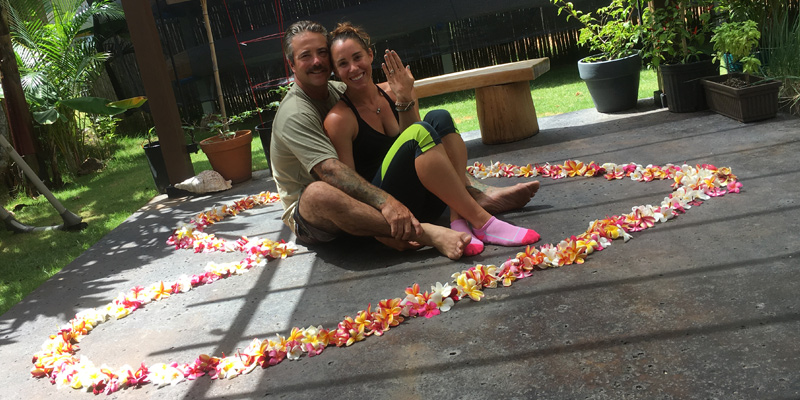 Commission | Hawaiian wedding proposal