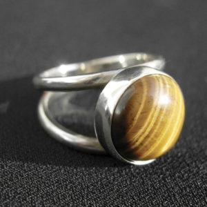 Birthstone Tigereye Ring