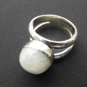 Birthstone Moonstone Ring
